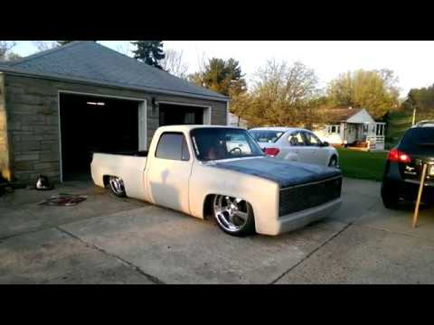 Slammed chevy c10 with 383 stroker big cam and air ride youtube slammed chevy c10 with 383 stroker big cam and air ride sciox Image collections