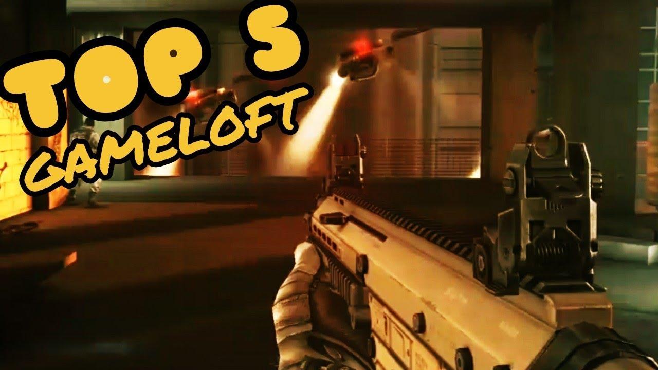 TOP 5 : أفضل 5 ألعاب حربية متعدد اللاعبين من شركة GAMELOFT