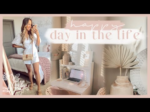 DAY IN THE LIFE | desk makeover + summer Express haul! ✨