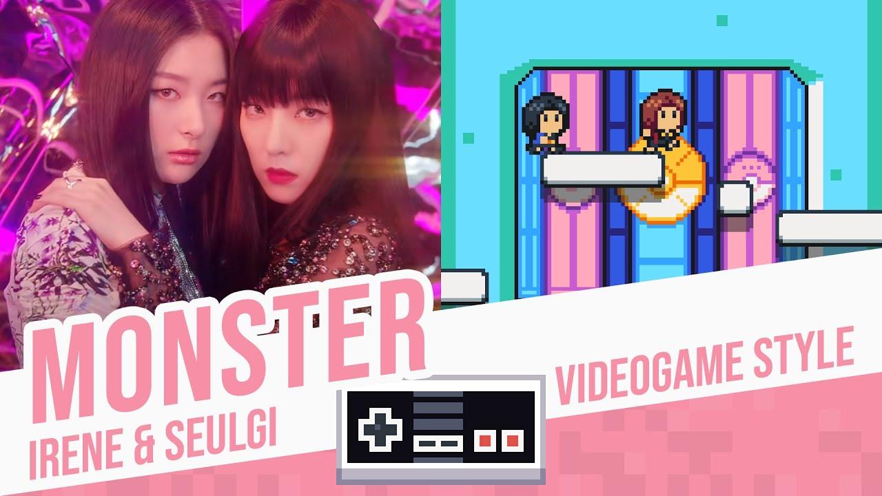 MONSTER, Irene & Seulgi - Videogame Style
