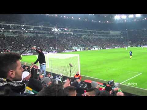 Juventus  Roma 3-0  05/01/2014 Curva Sud