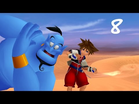 Kingdom Hearts HD ReMIX | Episode 8 | Aladdin / La caverne aux merveilles