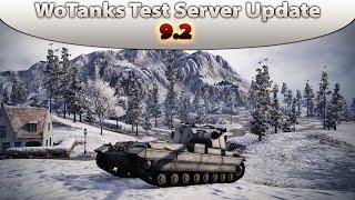 World of Tanks Test Server Update 9.2 Panzer Überarbeitungen [FVTD&WTE100|Deutsch]