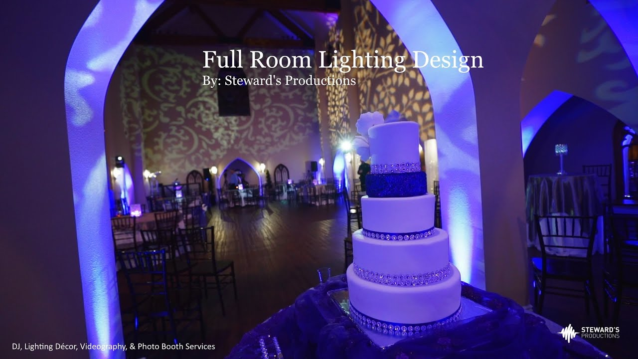 the castle at rockwall, tx lighting décor, videography, & photo