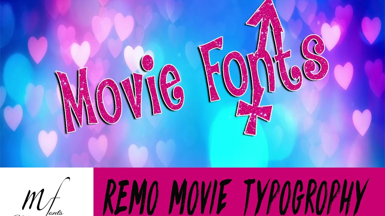 REMO | Title Making in 5 Mins | Movie Typography