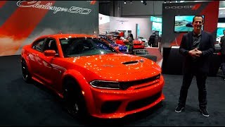 Is the 2020 Dodge Charger Hellcat Wide Body the PERFECT family Muscle Car?