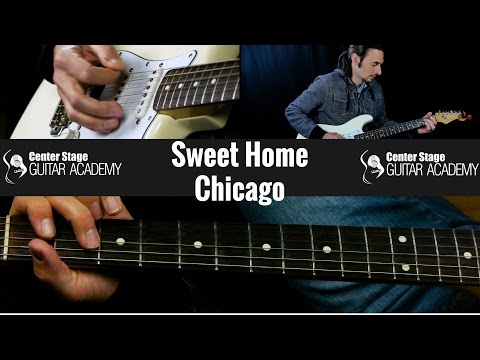 Sweet Home Chicago guitar lesson