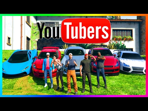 GTA ONLINE YOUTUBERS SPECIAL - POPULAR YOUTUBE STARS IN GTA 5 - PEWDIEPIE, KSI, ROMAN ATWOOD & MORE!