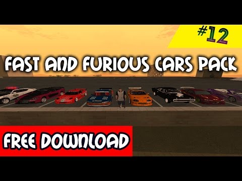 Fast Furious Cars Pack