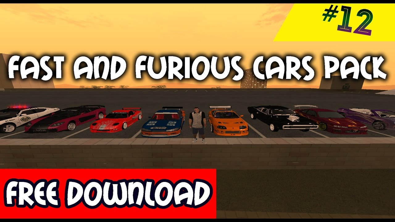 Gta san andreas tunable cars pack mod youtube.