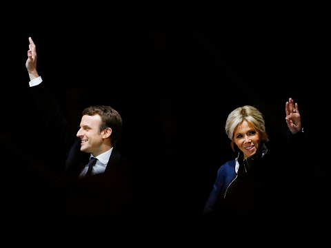 Who is the new French president, Emmanuel Macron? – video
