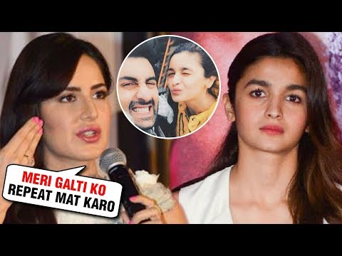 Alia Bhatt Making The Same MISTAKE Like Katrina Kaif Did For Ranbir Kapoor?