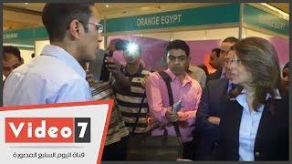 بالفيديو.. طلب فكاهى بين وزيرة التضامن وشركة توظيف طباخين