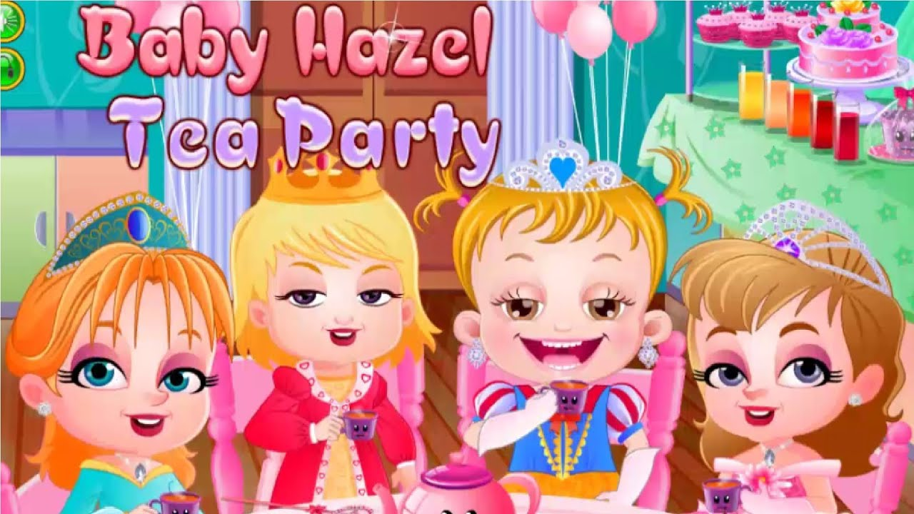 Baby Hazel Tea Party Kids Baby Dress Up Girl Movies Cute Cartoons