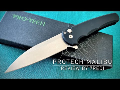Protech Malibu Manual Button Lock Review – The Best EDC Knife Period!