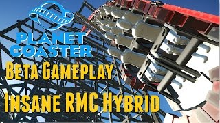 planet coaster beta gameplay released building an insane rmc hybrid new rides