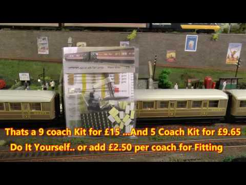 Dave`s Model Railway …Coach Lighting
