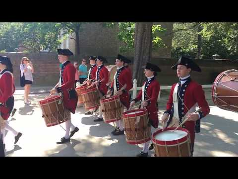 Colonial Williamsburg Fifes and Drums Montage