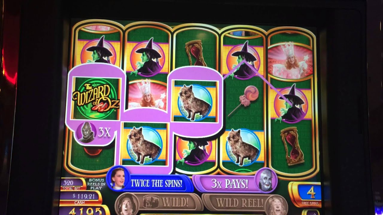 Wizard of oz slot machine odds