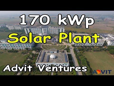 170 kWp Solar Plant Institutional - College Samalkha Haryana By Advit Ventures