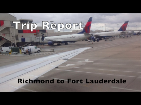 TRIP REPORT: RIC-ATL-FLL on Delta Air Lines (MD-88, 737-800)
