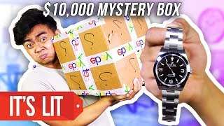 What's Inside a $10,000 Ebay Mystery Box?!