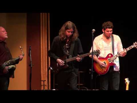 Chris Cain w/guitarists Levi Lloyd, Austin Mo & Zack Waters