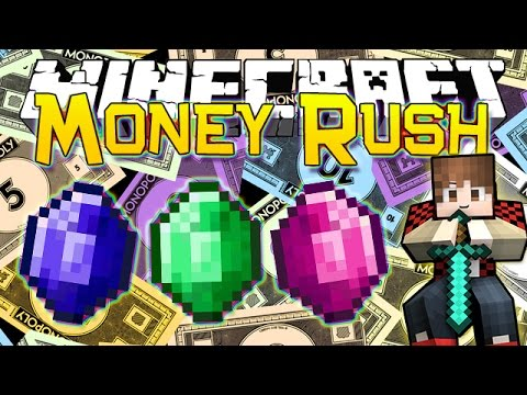 Minecraft: MONEY RUSH #1 - CRAZY FIRST GAME! (Epic Mini-Game)