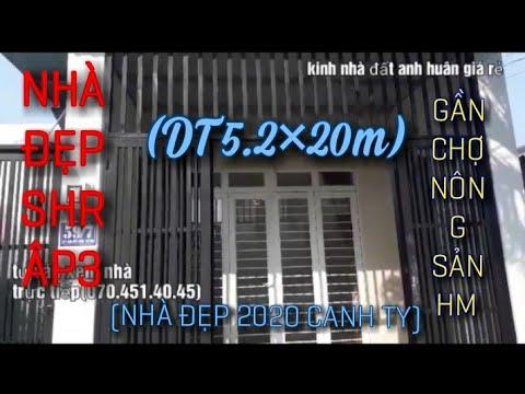 Nhà bán hóc môn , đường nguyễn thị sóc 5.2x20m Sổ Hồng Riêng Chính Chủ