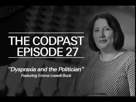 The Codpast Eps 27 - Dyspraxia and the Politician feat. Emma Lewell-Buck