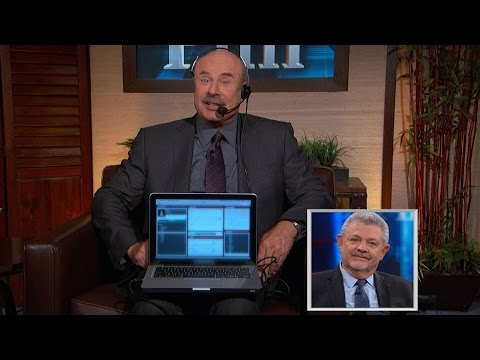 Dr. Phil Shows A Man How He May Be Getting Conned By A 'Woman' He's Been Talking To Online