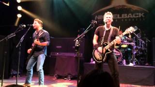 Nickelback Figured You Out HOB Hollywood