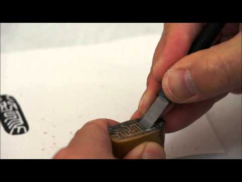 ASMR Engraving a Special Seal of 八咫烏 Yatagarasu with Best Wishes for Japan(HD)