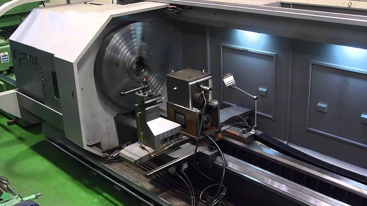 Style Hi Tech 1500 Heavy Duty Cnc Lathe Swing 1500mm X 5