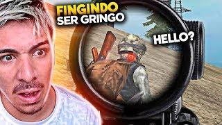 ACHEI UM GRINGO NO FREE FIRE !!