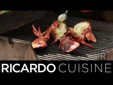 D cortiquer un crabe doovi - Cuisiner le homard vivant ...