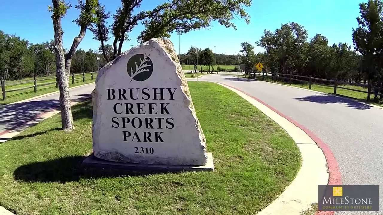 Brushy Creek New Homes For Sale In Cedar Park TX By Milestone Community Builders