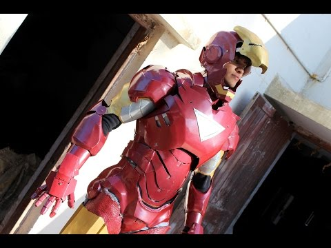 """Iron man Suit Mark VI ( Mark - 6 ) part-12 """" FULL SUIT WITH COLOR & ELECTRONICS """" (Metal)"""