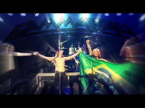 Gamma Ray - BEST OF THE BEST – PARTY TOUR 2015, live in Brasília/Brazil (Full Concert)