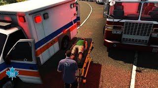 Flashing Lights | Ambulance Driver | PC Gameplay