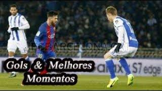 Real Sociedad x Barcelona - Gols & Melhores Momentos - Campeonato Espanhol #04