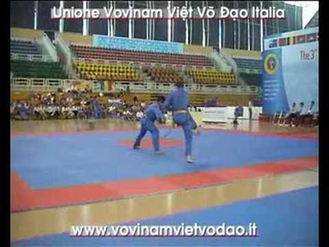 3rd Vovinam VVD World Champ. Song Luyen Kiem Norvegia