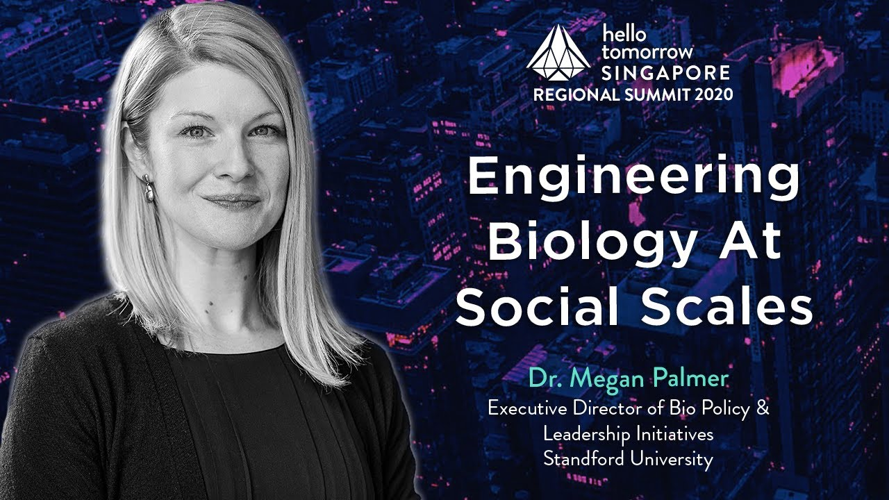 The Future of Bioengineering in Society | Dr. Megan Palmer