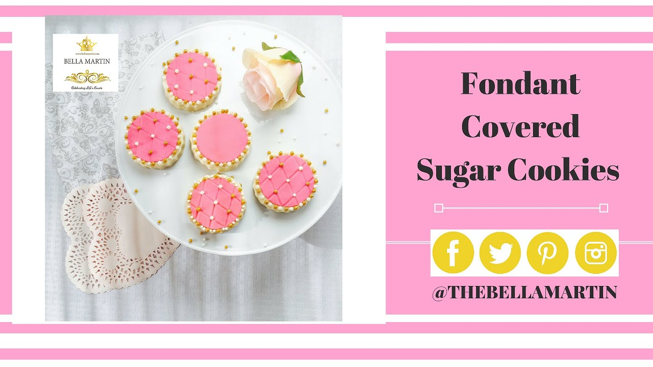 Fondant Covered Sugar Cookies: Weddings, Birthdays, Valentine\'s day ...
