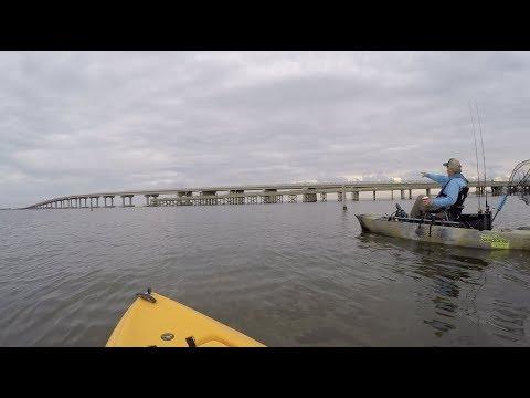 Kayak Fishing Grand Isle LA, Ride The Bull 8 Prefishing