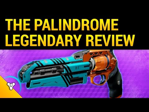 Rise of Iron: The Palindrome Review - Better Than Eyasluna?
