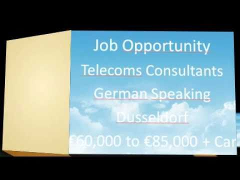 Telecoms Consultant Job Germany | CRM/BSS/OSS | Dusseldorf