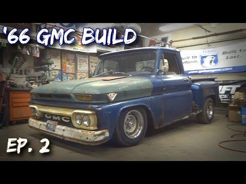 """Bagged '66 GMC Build (Ep. 2) """"Junebug"""""""