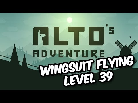 Alto's adventure - The Wingsuit: Activating your Wingsuit and the Level 39 challenges