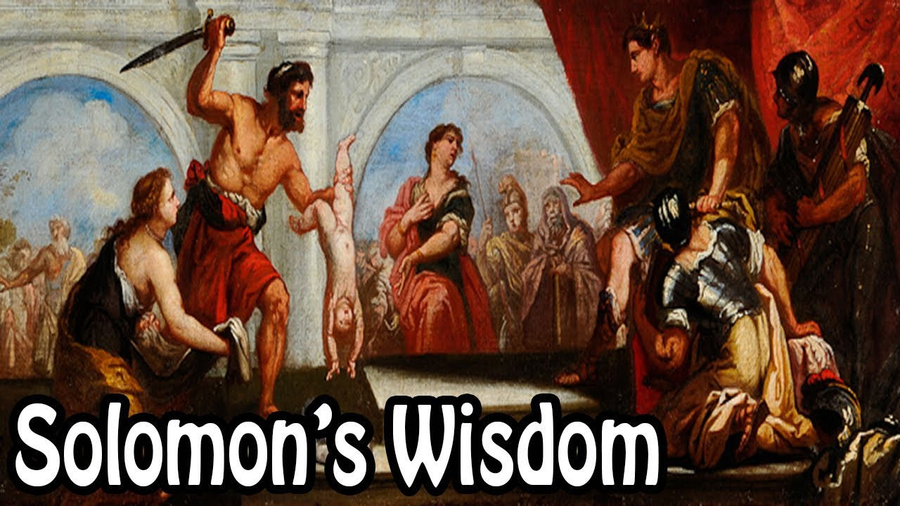 King Solomon's Wisdom (Biblical Stories Explained)